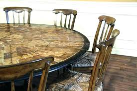 extra large round dining tables extra large round dining table that seats 8 and chairs 6