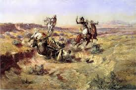 broken rope cowboys charlie rus horses wild west resized
