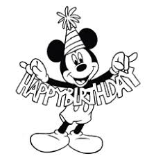 Small Picture Happy Birthday Coloring Pages Free Printables