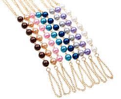 finger loop reviews online shopping finger loop reviews on pulseira jewelry imitation pearls chain linked bracelet elegant finger loop women s wire harness hand bracelets for women