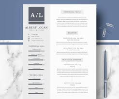 Resume Design Templates Cool 60 Eye Catching CV Templates For MS Word Free To Download