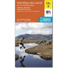 os explorer map ol 6 english lakes sw (coniston, ulverston South Lake District Map the lake district south western area south lake district pasadena