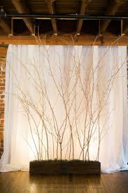 rustic wedding lighting ideas. Rustic Tree Branched Wedding Backdrop Lighting Ideas -