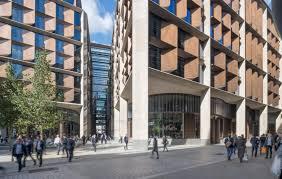 Sustainable office building Vertical Garden Dezeen Phineas Harper On Bloomberg Hq