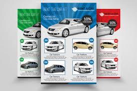 Car Flyers Rent A Car Flyer Templates Flyer Templates Creative Market 21