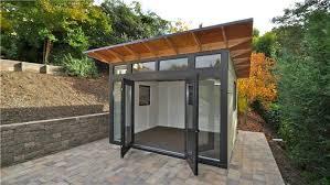 tiny backyard home office. Beautiful Backyard Prefab Backyard Office Studio Shed Tiny House Design Home  To Tiny Backyard Home Office