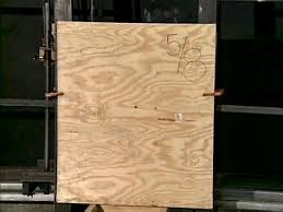 measure windows and cut plywood