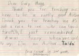 Letters From Students Teachers And Principals Gary Hogg Author