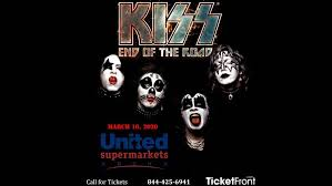 Kiss At United Supermarkets Arena Lubbock Tx Lubbock