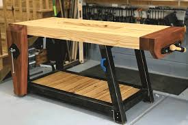Building A TwoSlab Roubo Workbench Part 1  FineWoodworkingRoubo Woodworking Bench
