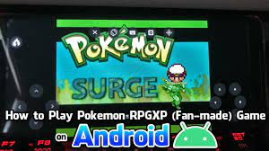 How to play Pokemon RPGXP Game (Fan-made Game) on Android! - Tutorial by  Pokemoner.com - YouTube