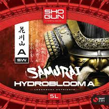 Shogun Fertilisers Samurai Hydrobloom A B By Shogun