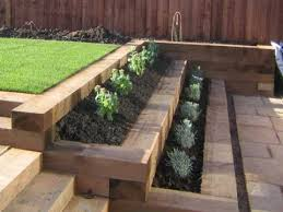 Retaining Wall Wooden Sleepers Google Search Retaining Walls Interesting Backyard Retaining Wall Designs Plans