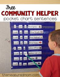 Our Community Helpers Chart Free Community Helpers Activity For Beginning Readers The