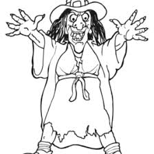 Small Picture Scary Witch Coloring Page Archives Mente Beta Most Complete