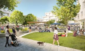 Image Classic Facebook Is Planning Vast Expansion Of Its Menlo Park Campus By Adding Several Office Buildings Hundreds Of Homes The Mercury News Facebook Plans Offices Retail Grocery Store Homes
