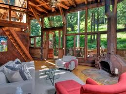 Concept Treehouse Masters Tree Houses Inside Of Living Room During The Day Throughout Impressive Ideas