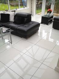 White Tiles Floor