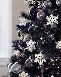 Dressed to the nines in jet black needles, the Tuxedo Black Christmas tree  makes any