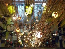 created by lebanese designer najla el zein specifically for the v a this walk through installation creates a