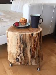 Sliced Log Coffee Table Serenity Stumps Cutting Boards