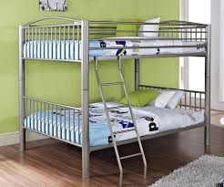 metal bunk beds for kids. Brilliant For Heavy Metal Full Over Bunk Bed  Pewter  Powell Furniture PW941137 For Beds Kids K