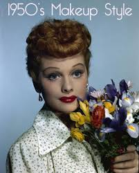 1950s makeup style lucille ball