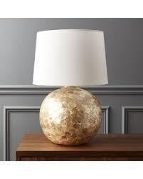 cb2 lighting. Battaglia Mother Of Pearl Table Lamp By CB2 Cb2 Lighting