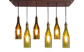 kinkajou kinkajou bottle cutter win a kinkajou bottle cutter kinkajou bottle upcycled wine bottle chandelier by industriallightworks