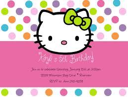 Hello Kitty Party Clipart