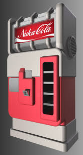Nuka Cola Vending Machine Mesmerizing PreWar NukaCola Vendor By JasonXL On DeviantArt