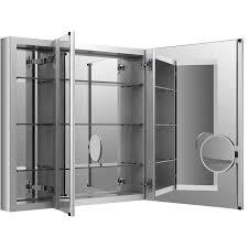 30 X 30 Medicine Cabinet Shop Kohler Verdera 40 In X 30 In Rectangle Surface Recessed