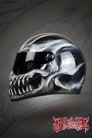 ghost bandit simpson skull motorbike snowmobile helmet