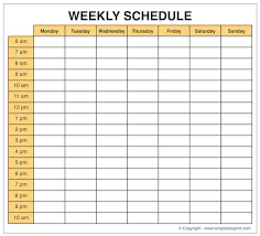 Weekly Planner Template Word Microsoft Weekly Calendar Template Salonbeautyform Com
