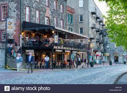 The Chart House Savannah Ga Usa Georgia Ga Historic Savannah West River Street