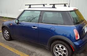 this is a custom 2004 mini cooper roof rack system rack vancouver