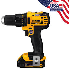 home depot dewalt. dewalt 20-volt max lithium-ion cordless compact drill/driver with (2) batteries 1.5ah, charger and contractor bag-dcd780c2 - the home depot dewalt