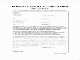 How To Write A Letter Of Intent For A Job Letter Of Intent Template Word Luxury Letter Intent Job Example