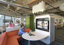 collaborative office space. Tech Leads The Way In Office Design Collaborative Space E