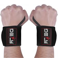 defy power weight lifting wrist wraps supports gym workout bandage straps 18 long 3