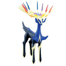Pokemon XY Xerneas 7 Articulated Vinyl Figure Tomy - ToyWiz