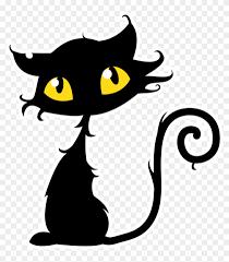 black cat clipart png. Modren Cat Halloween Cats Clipart  Black Cat Vector In Png