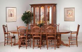stylish amish dining room chairs dining room furniture amish oak dining amish made dining room tables and chairs prepare