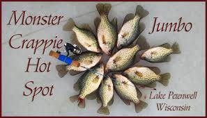 Image result for petenwell flowage wis black crappie pics