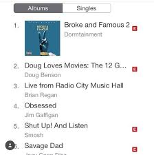 Comedy Album Charts Comedy Group Dormtainment Lands 1 Spot On Itunes Chart With