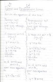 geometry parallel and perpendicular lines worksheet worksheets writing equations