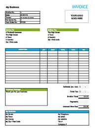 invoice forms free billing invoice template excel