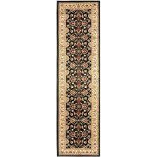 8 ft runner rugs black ivory 2 ft x 8 ft runner rug