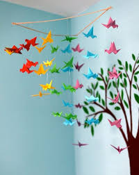 20 origami decor ideas for a kids room
