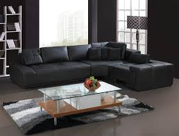 black sectional sofas. Brilliant Black Alternative Views For Black Sectional Sofas 6
